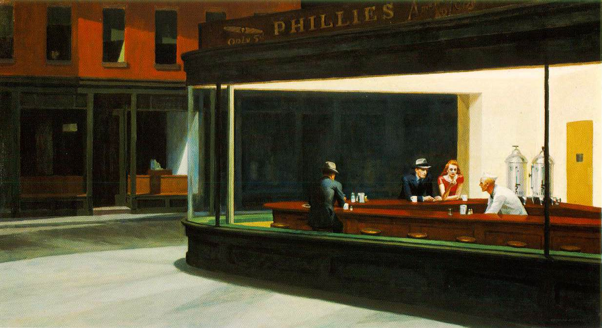Nighthawks, Edward Hopper, 1942